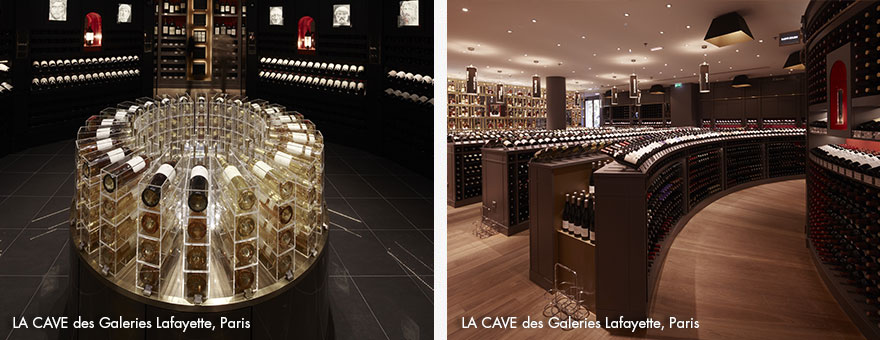LA CAVE des Galleries Lafayette Paris